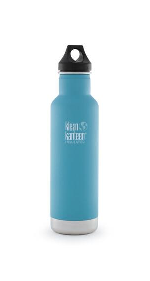 Klean Kanteen Classic Insulated - Gourde - avec bouchon Loop 592 ml bleu